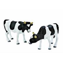 Kids Globe - 571873 - Vaches 2 Pack Noir Et Blanc Verticaux L'ÉCHELLE 1:32