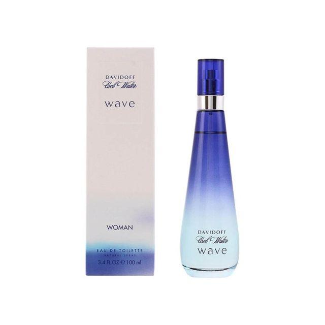 Davidoff Parfum Femme Cool Water Wave Edt Pas Cher Achat Vente