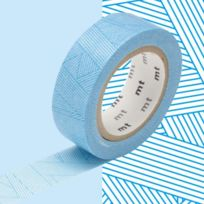 Mt - Masking Tape Deco Messy Cyan