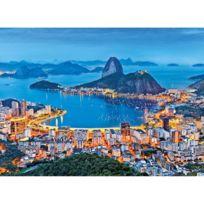 Clementoni - Puzzle 1000 pièces : Rio de Janeiro, Brésil