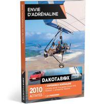 Dakotabox - Envie dadrénaline - 2010 activités : conduite de Gt dexception Ferrari F458, Maserati parapente, flyboard - Coffret Cadeau
