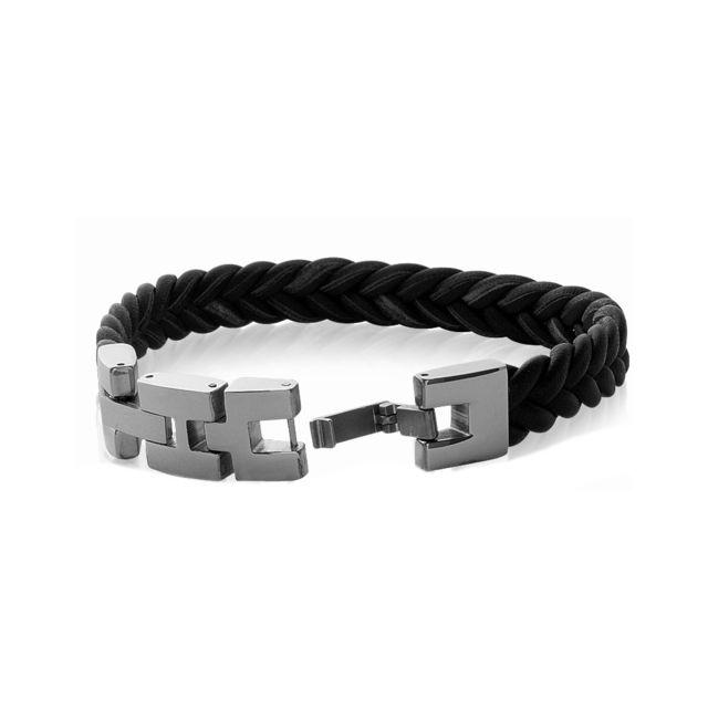 bracelet cuir 10mm