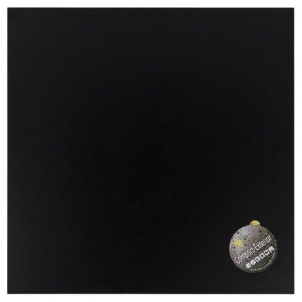 TECHNEB Plateau de table carré VERA en polymère 60cmX60cmX3cm, noir