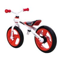 "Jd Bug - Vélo d'apprentissage 12"" rouge"