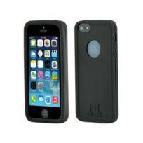 Mols - Coque antichoc noire pour Apple iPhone 5