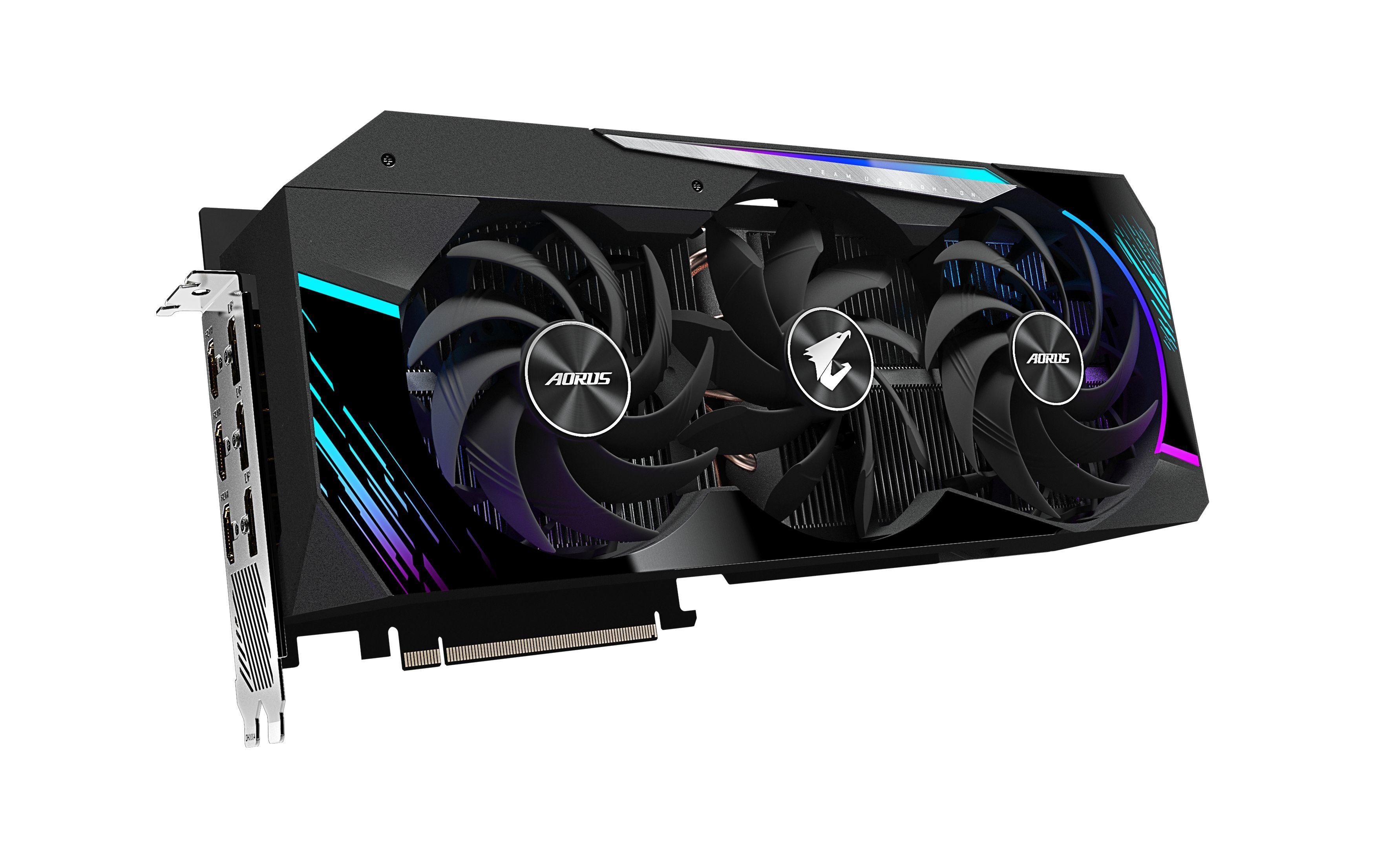 Carte graphique AORUS GeForce RTX™ 3090 MASTER 24 Go GDDR6X 384-bit Gigabyte