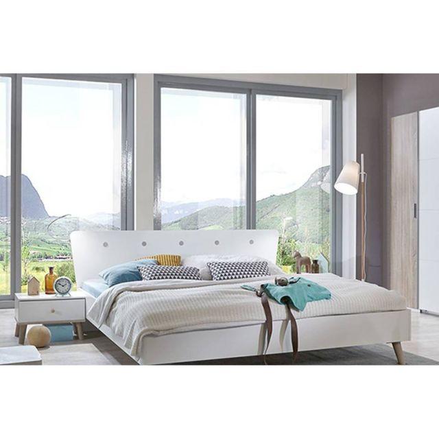 Ensembre chambre à coucher 3 pièces Viborg style scandinave