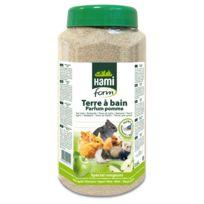 Hamiform - Terre à Bain Parfum Pomme pour Rongeur - 1,6L