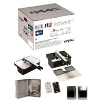 Faac - Kit Power Plus Integral Motorisation portail battant 24V