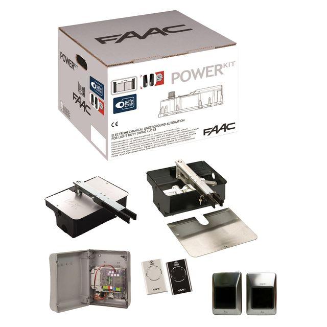 faac kit power plus integral motorisation portail. Black Bedroom Furniture Sets. Home Design Ideas