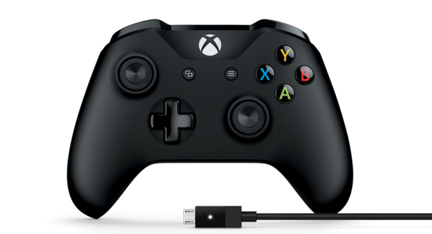 Manette Xbox One + câble pour Windows