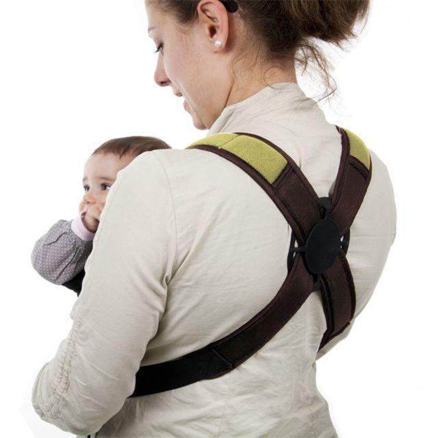 MONSIEUR BEBE - Porte bébé ventral 2 positions + poche de rangement De 3 à 18 mois