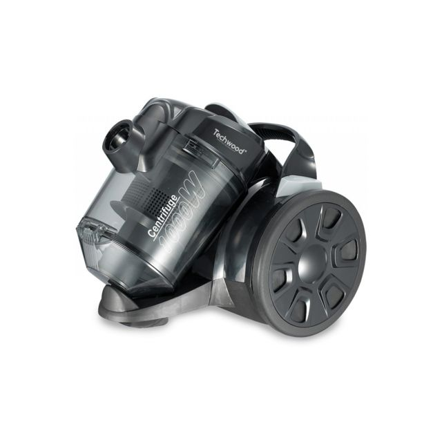 Techwood Aspirateur Sans Sac Eco Noir 1000 W - Tas-124C