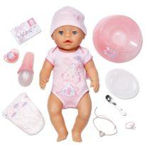 Zapf - Baby Born Interactif - 815793 - Coffret Fille - Poupon À Fonctions 43 Cm & Accessoires