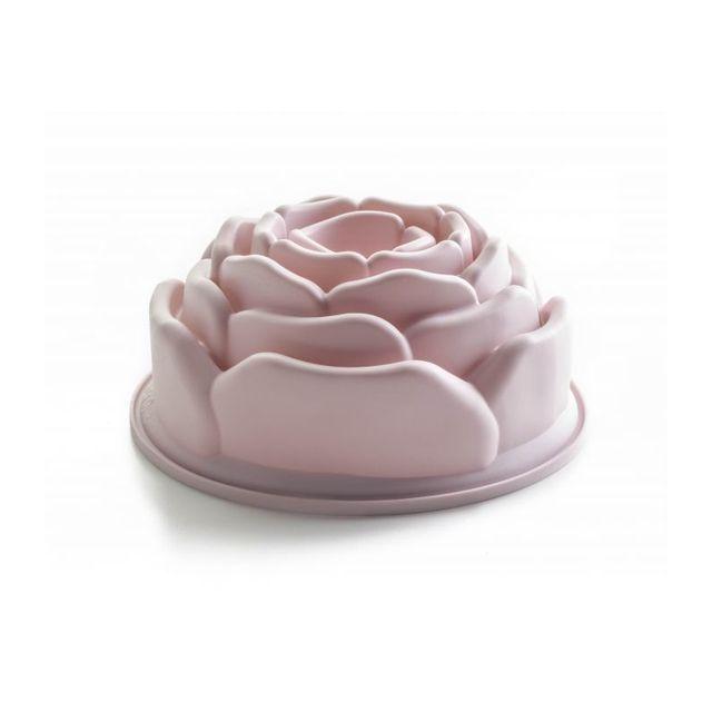 Ibili Moule Silicone Forme Rose 21 Cm