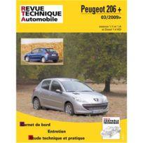 Topcar - Revue technique pour Peugeot 206 et 03-2009 et après, essence et 1.4 hdi