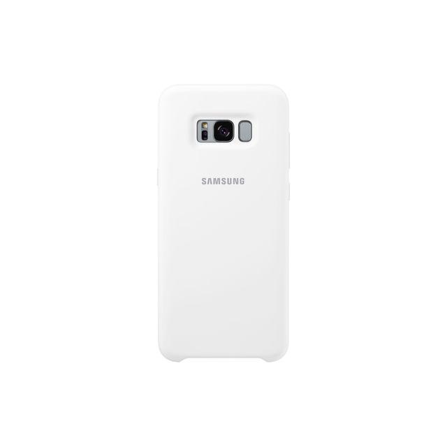 Samsung Silicone Case Galaxy S8 Plus - Blanc