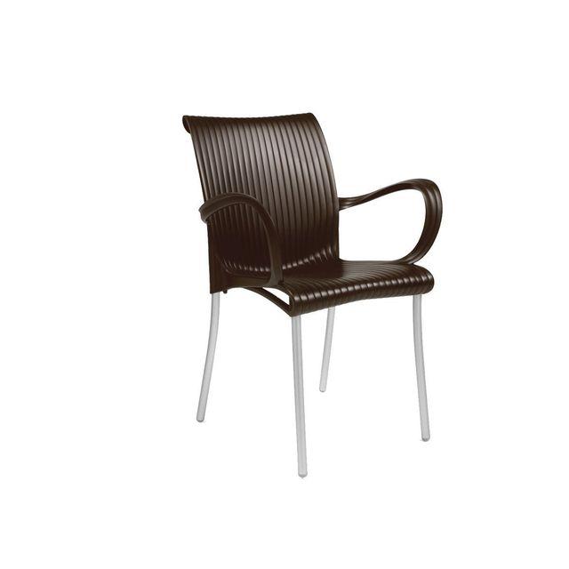nardi fauteuil avec accoudoir design jardin terrasse dama pas cher achat vente fauteuil. Black Bedroom Furniture Sets. Home Design Ideas