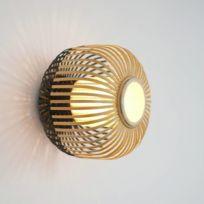 abat jour bambou achat abat jour bambou pas cher soldes rueducommerce. Black Bedroom Furniture Sets. Home Design Ideas