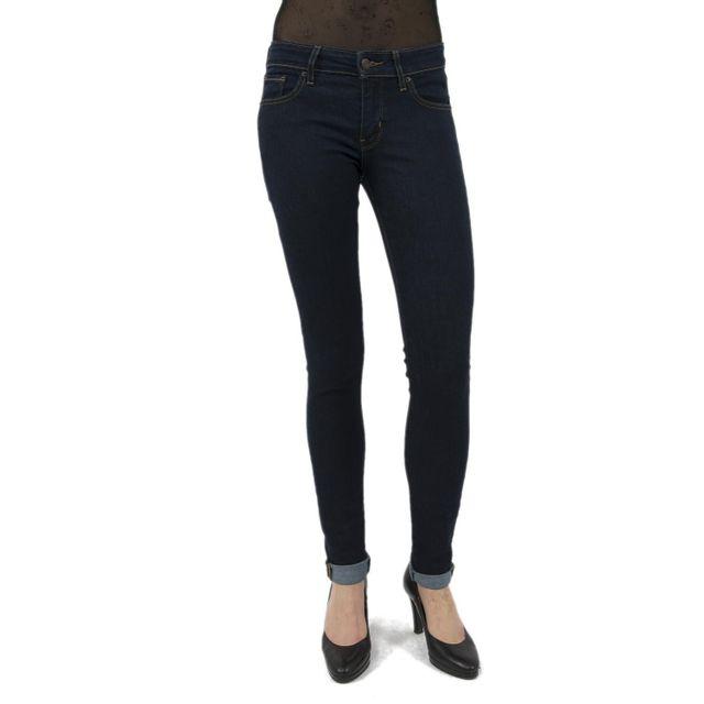 Levi s - Jeans levis 711 skinny bleu - pas cher Achat   Vente Jeans ... 3b6460c44df8