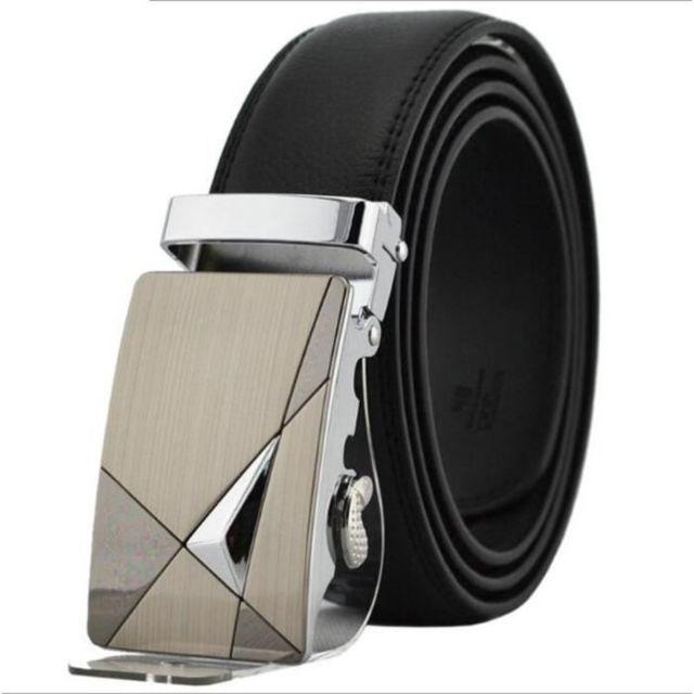 31b913779b0d35 Sans - Ceinture avec boucle automatique Noire pour Homme - Accessoire  Pantalon - 315