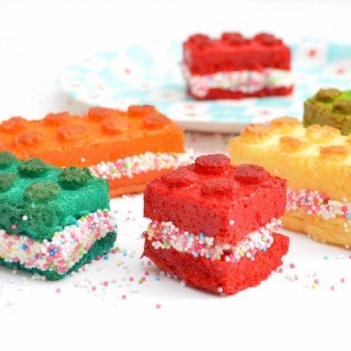 Scrapcooking Moule à gâteaux créatif en silicone en forme de briques pour réaliser des constructions gourmandes