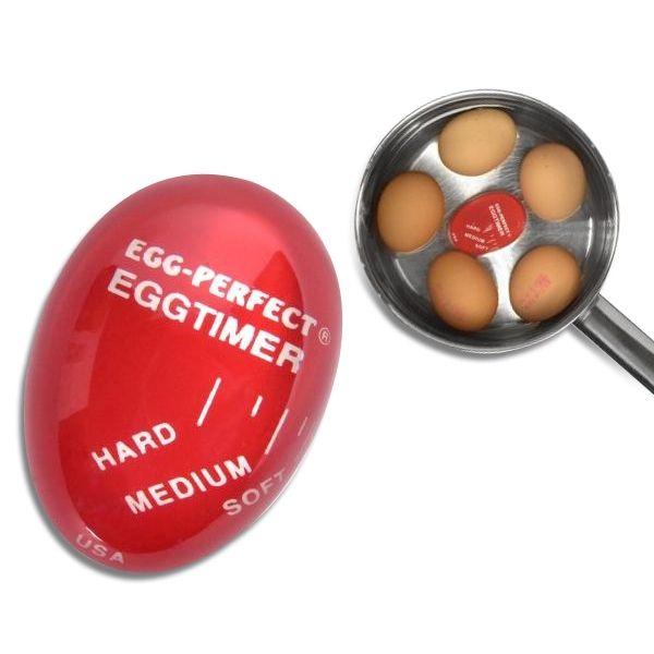 Totalcadeau Minuteur pour cuisson d'œufs egg timer
