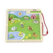 Viga Toys - 0618 - Loisirs CrÉATIFS - Jeu MagnÉTIQUE - Ferme