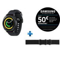 Samsung - Gear Sport - Noir + Bracelet pour Montre Gear Sport