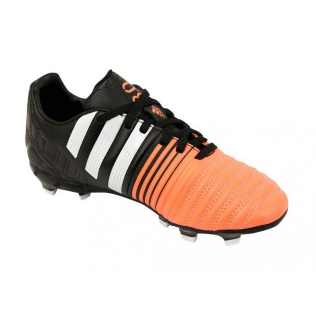 NITROCHARGE 3.0 FG JR NRO Chaussures Football Garçon Noir 38