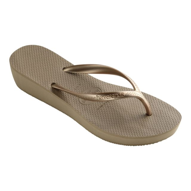 havaianas tong compens e hight pas cher achat vente sandales et tongs femme rueducommerce. Black Bedroom Furniture Sets. Home Design Ideas