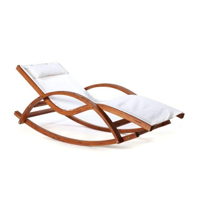 miliboo chaise longue bain de soleil blanc cass guerande - Bains De Soleil Pas Cher