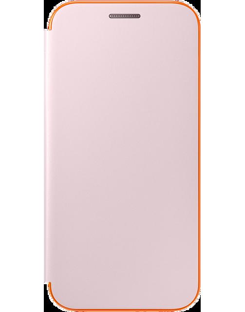 Samsung Neon Flip Cover Galaxy A3 2017 - Rose