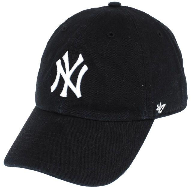 47 Brand - Casquette New york yankees Noir 76824 - pas cher Achat   Vente  Casquettes, bonnets, chapeaux - RueDuCommerce aa2956d73c3