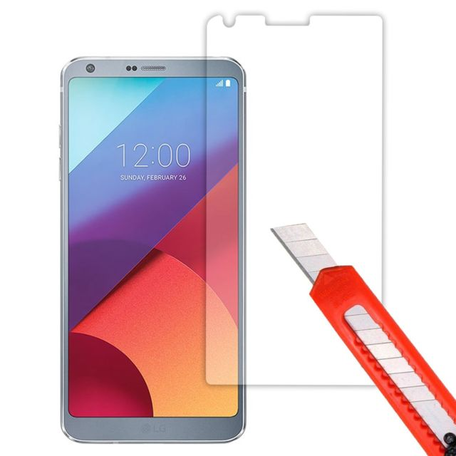 cabling verre tremp lg g6 film protection d 39 cran en verre tremp pour lg g6 pas cher. Black Bedroom Furniture Sets. Home Design Ideas