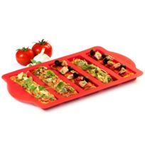 Yoko Design - Moule à Pizza en silicone Rouge