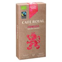 CafÉ Royal - Capsules de café Bio Espresso - Boîte de 10