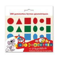 Gribouill'ART - maxi gommette geometrique hollographique - pochette de 720