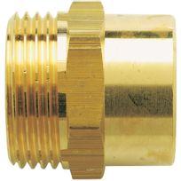 Raccords - Manchon à visser mâle - Filetage 12 x 17 mm - Diam. 12 mm - Par 25