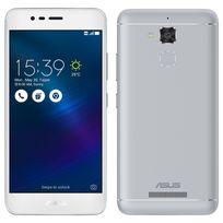 Asus - Smartphone Zenfone Go - Argent glacé