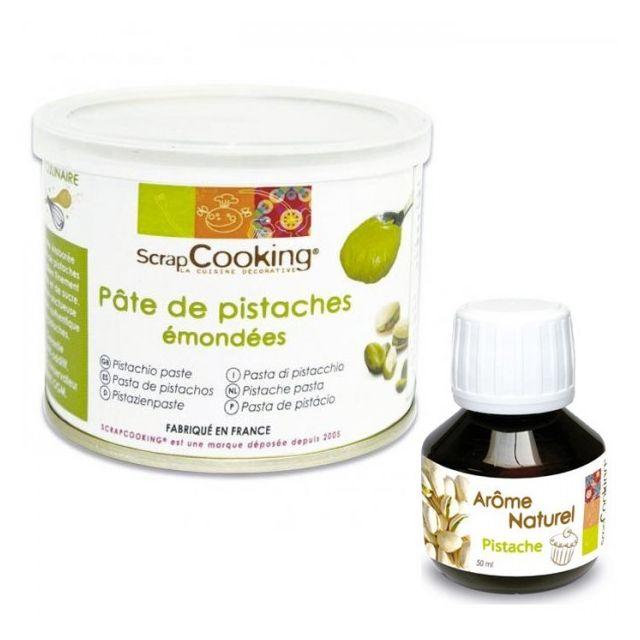 Scrapcooking Pâte de pistache + arôme pistache