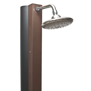 crm douche solaire marron rustique 30l pas cher achat vente douches d 39 ext rieur. Black Bedroom Furniture Sets. Home Design Ideas