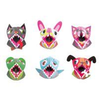 Janod - Coffret créatif Origami Marionnettes animaux