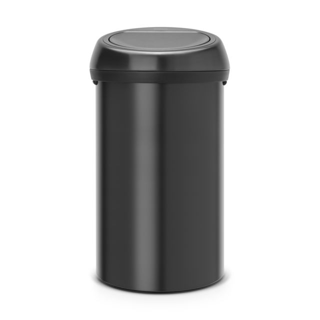 BRABANTIA Touch Bin, 60L - Matt Black