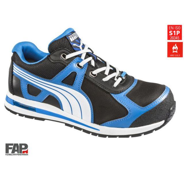 27b5ed0c766bc Puma - Chaussures de sécurité Aerial low S1P HRO SRC Pointure 42 643020-42  - pas cher Achat   Vente Protections des pieds - RueDuCommerce