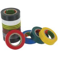 Scapa - Lot ruban adhésif Pvc Assortiment de couleurs