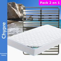 Altobuy - Chypre - Pack Matelas + AltoZone 140x190