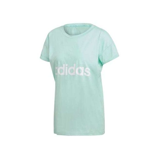 Adidas T shirt Essentials Linear Loose manche courte