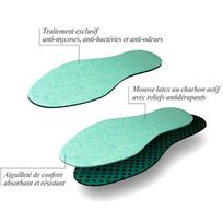 Sedetex - Semelles antibactériennes
