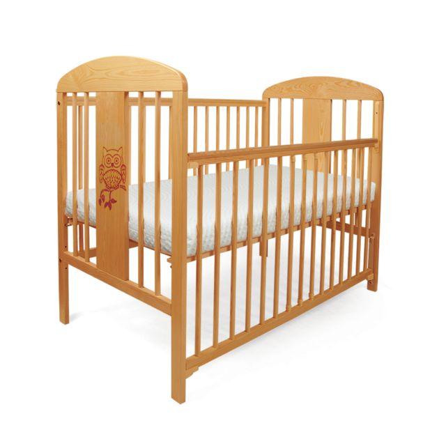 tomi lit pour b b barreaux 19 hibou barri re coulissante avec matelas et drap pas cher. Black Bedroom Furniture Sets. Home Design Ideas
